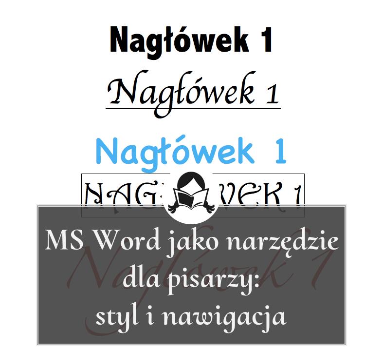 ms word styl nawigacja